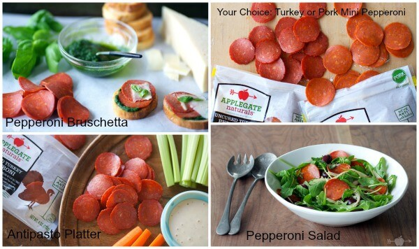 Love for Applegate's NEW Mini-Pepperoni #ad | MealPlanningMagic.com