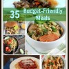 35 Budget Friendly Meal Recipe Roundup | compiled by MealPlanningMagic.com