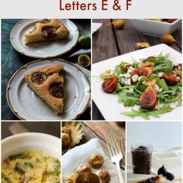 Eat A to Z Healthy Recipe Challenge -Letters E & F | MealPlanningMagic.com