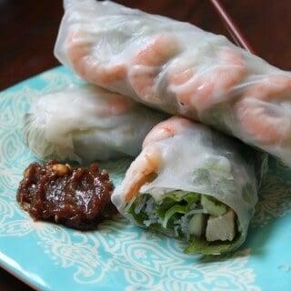 Easy Shrimp and Pork Spring Rolls