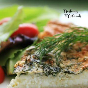 Spring Herbed Brie Quiche   brunch recipe
