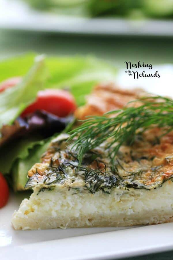 Spring Herbed Brie Quiche by Noshing With The Nolands (2)small