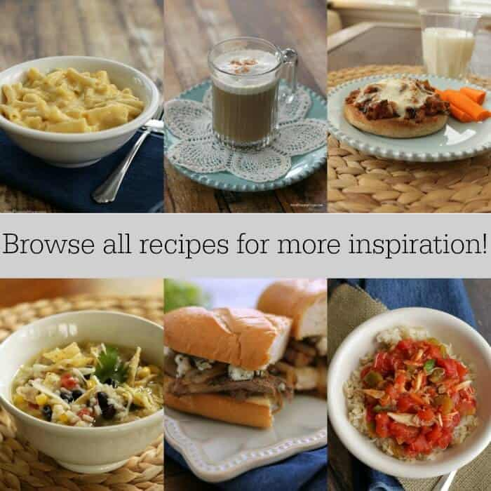 Browse my recipe index for more inspiration and ideas! at MealPlanningMagic.com
