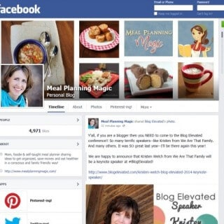 Keeping Up with Meal Planning Magic: More than Just Facebook