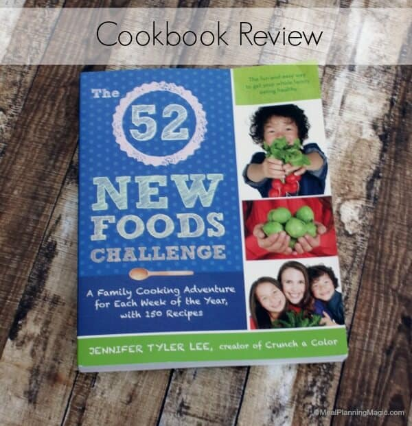 The 52 New Foods Challenge Cookbook Review | #52NewFoods
