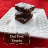 These Black Forest Brownies are a moist and delicious blend of chooclate and cherry flavors! | 12 Weeks Christmas Treats | Recipe at www.mealplanningmagic.com