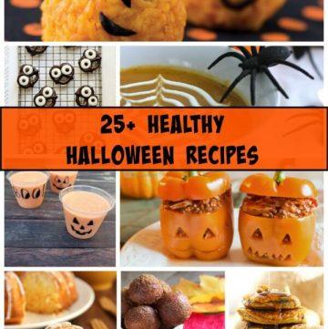 25+ Healthy Halloween Recipe Ideas Roundup | www.mealplanningmagic.com
