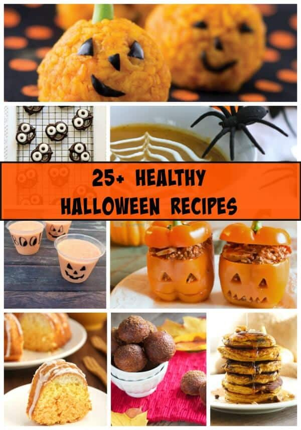 Healthy Halloween Recipe Ideas Roundup  | www.mealplanningmagic.com