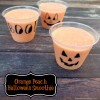 Fresh and flavorful Orange Peach Halloween Smoothie | Recipe on MealPlanningMagic.com