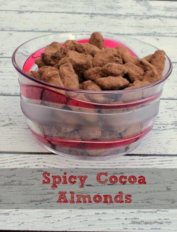 Spicy Cocoa Almonds