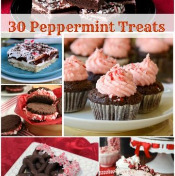 30 Peppermint Treats roundup | 12 Weeks of Christmas Treats |Find recipes at Meal PlanningMagic.com