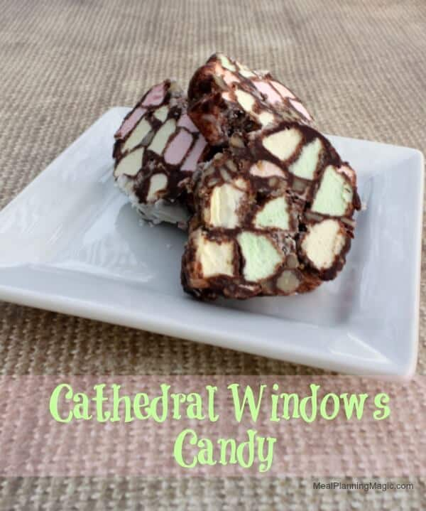 Cathedral Windows Candy with just 5 ingredients! | 12 Weeks Christmas Treats | Recipe from MealPlanningMagic.com