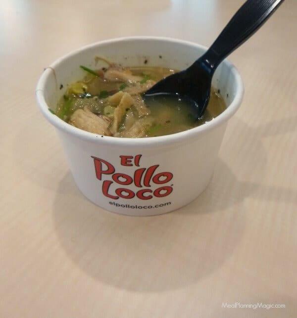 El Pollo Loco Tortilla Soup