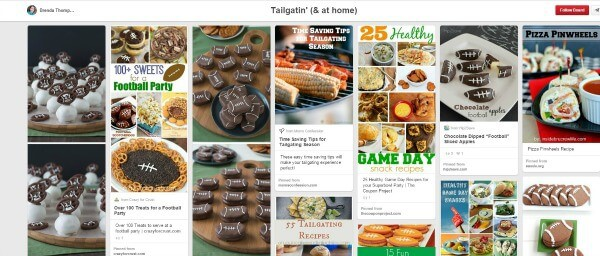 Tailgating and Football Themed foods on Pinterest from MealPlanningMagic.com