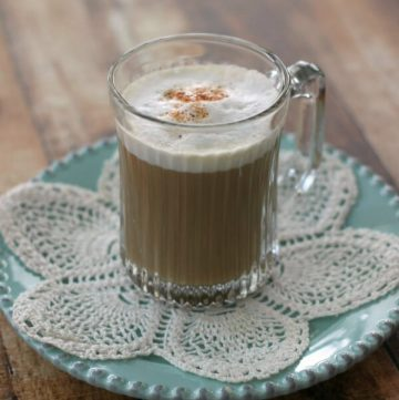 Simple Chai Tea Latte with Easy Frothed Milk | Delicious make-ahead recipe with easy frothed milk tip too | Recipe at MealPlanningMagic.com