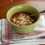 Crockpot Lasagna Soup - So simple and will soon become a family favorite! | Recipe at MealPlanningMagic.com