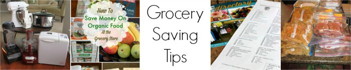 Meal planning can help you save money at the grocery store--check out my post for more Grocery Saving Tips!