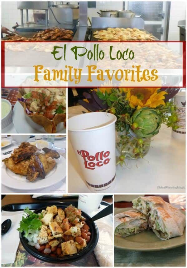 El Pollo Loco Family Favorites | Review on MealPlanningMagic.com
