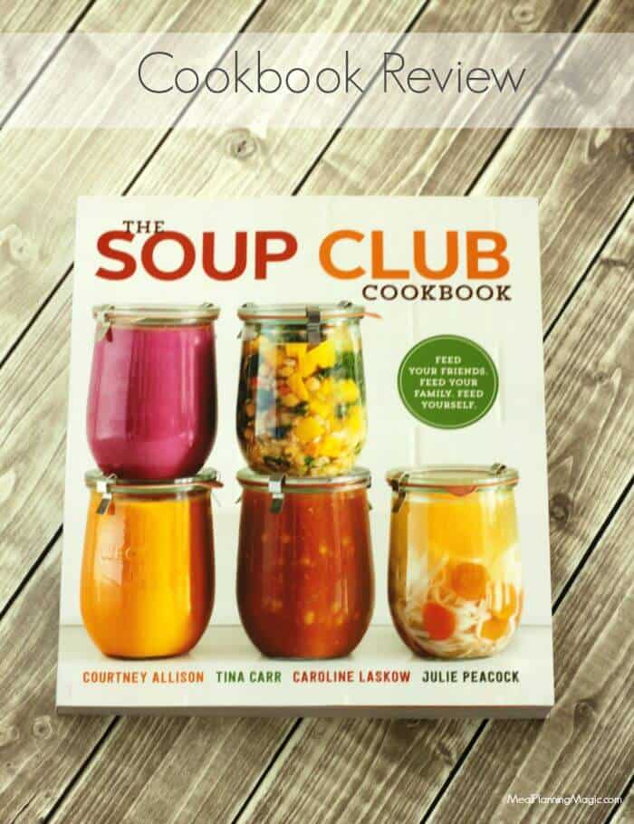 The Soup Club Cookbook Review plus Creamy, Fresh and Simple Roasted Broccoli Soup | Recipe at MealPlanningMagic.com
