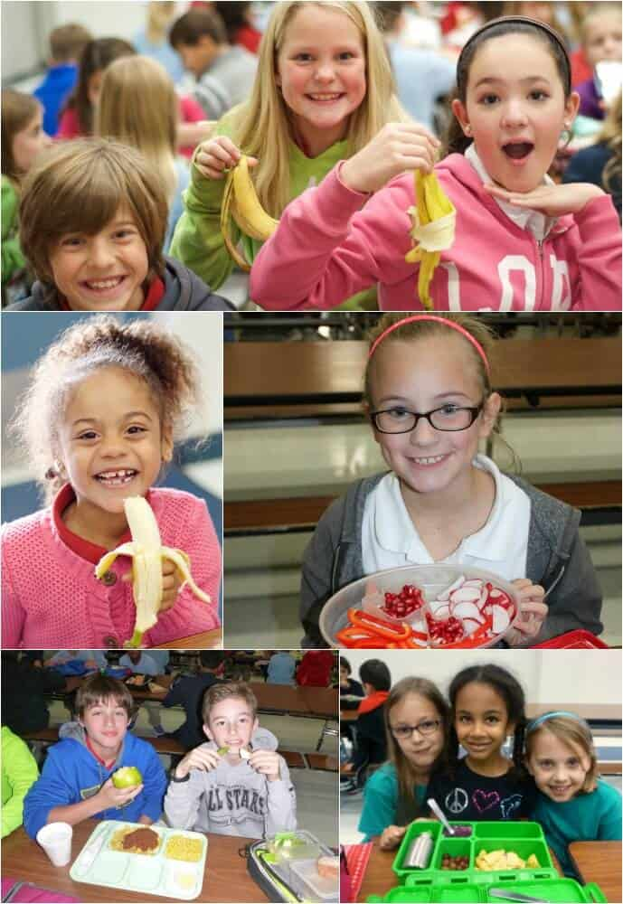 Eat the Rainbow Challenge - Fun Way for School Kids to Eat More Fruits and Veggies in Five Days! | Find out more at MealPlanningMagic.com
