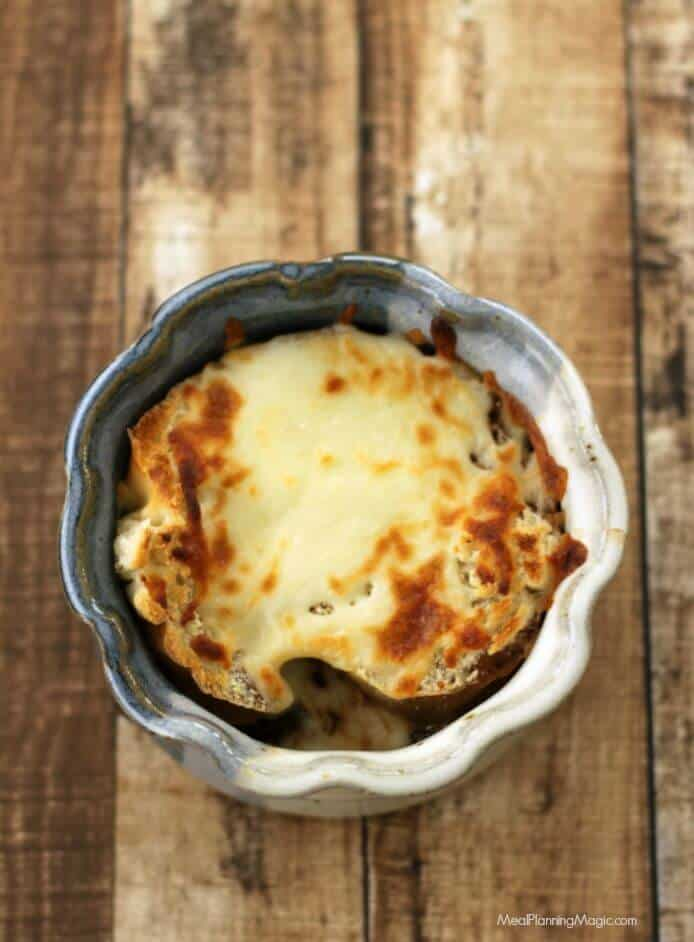 French Onion Soup-Slowcooker-overhead