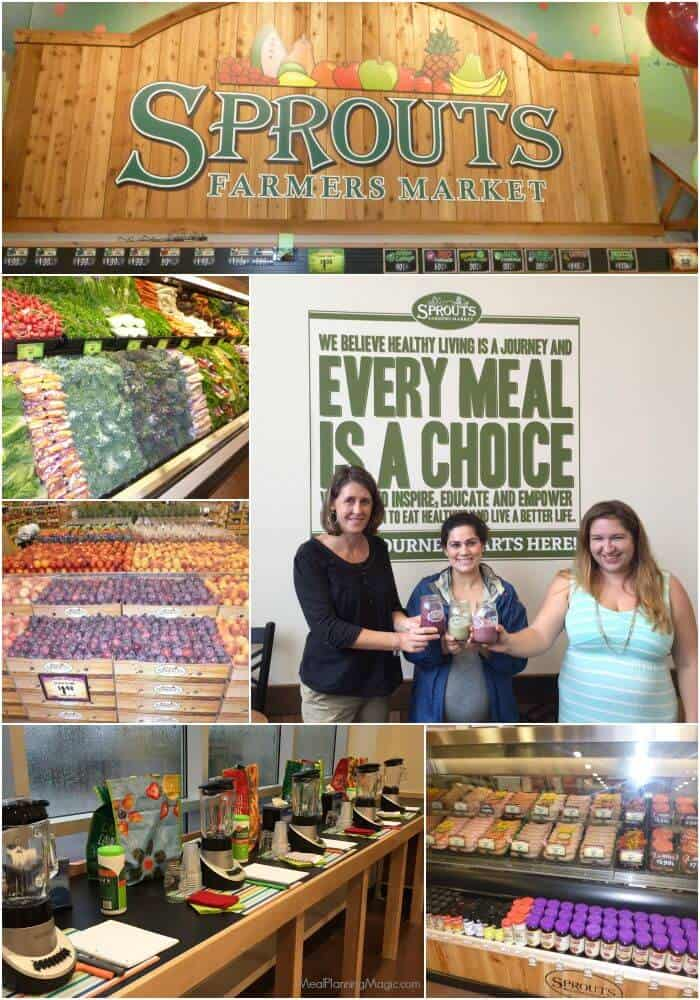Sprouts Farmers Market Collage  | More details at MealPlanningMagic.com