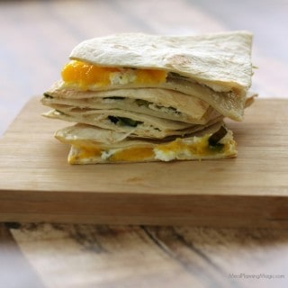 Easy Grilled Mango Poblano Quesadillas (only 5 ingredients!)