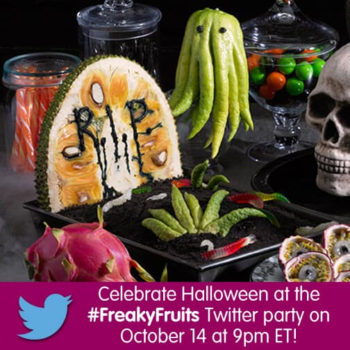 #FreakyFruits Twitter Party with MealPlanningMagic.com, Melissa's Produce and Produce for Kids ~ October 14, 2015