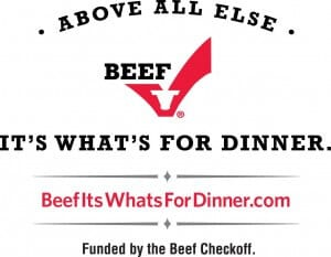 The Beef Checkoff Logo | Recipe idea on MealPlanningMagic.com