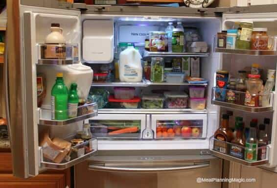 Six Tips To Organize Your Refrigerator Meal Planning Magic