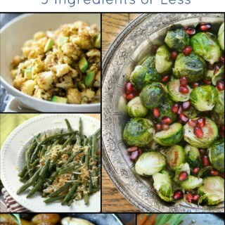 Super Easy Healthy Vegetable Sides - 5 Ingredients or Less! Find the recipe links at MealPlanningMagic.com