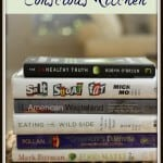 Confused by what foods to feed your family and why? I've rounded up these Six Books To Read For The Conscious Kitchen to help you understand the food you eat so you can make more informed decisions for your family. Find the list at MealPlanningMagic.com