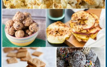 Who says road trips need to be all about the junk food? Healthy road trip snacks are possible with a little pre-planning and this Better For You Road Trip Snacks Roundup of recipe ideas so you can eat healthier while on the road! |Find it at MealPlanningMagic.com
