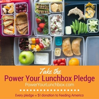 Take the 3rd Annual Power Your Lunchbox Pledge and Help Families In Need!