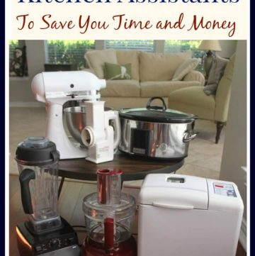 My secret to saving time and money in the kitchen? My Ultimate Kitchen Assistants - find out more at MealPlanningMagic.com