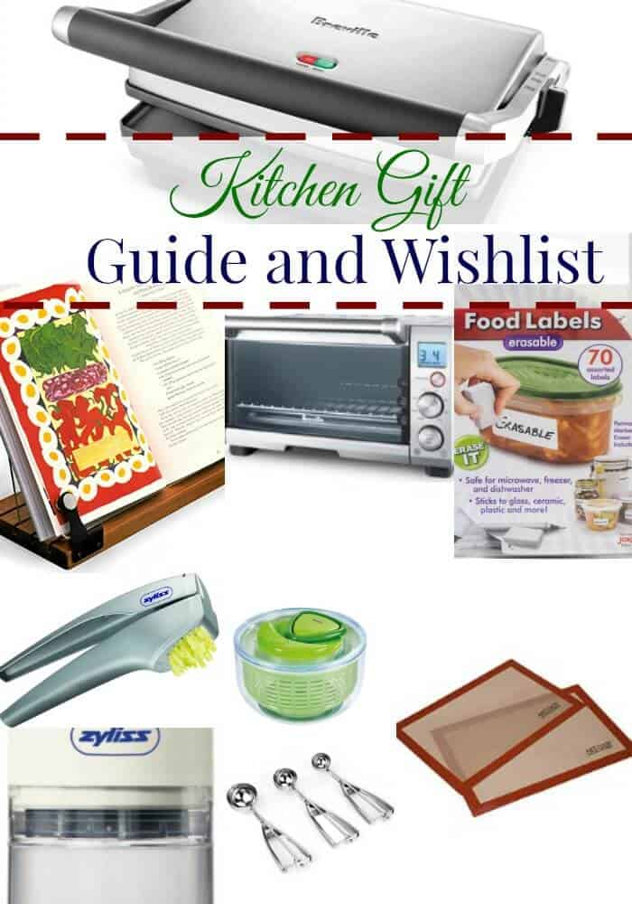 Kitchen Gift Guide and Wishlist--some of my favorite gadgets and small appliances for the kitchen! Read more at MealPlanningMagic.com