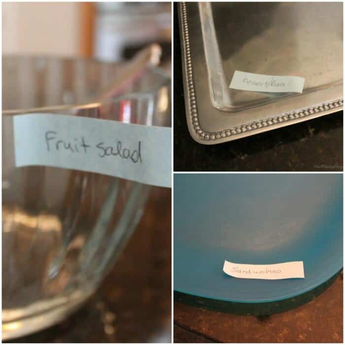 buffet-labeled-items