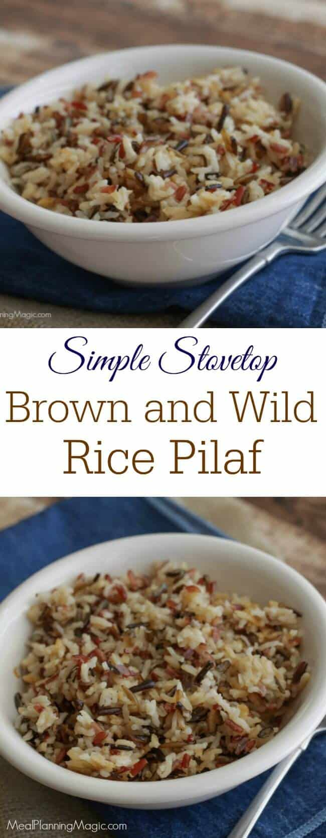 Stove top rice pilaf recipes easy