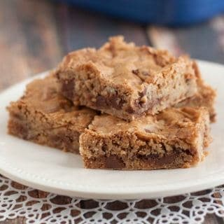 Bake Sale Brown Sugar Blondie Bars