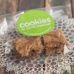 These Bake Sale Brown Sugar Blondie Bars have a slight caramel flavor and are perfect for bake sales, the lunchbox, picnics or just because!
