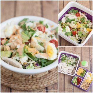 Power Your Lunchbox Campaign and BBQ Chicken Chopped Salad Recipe