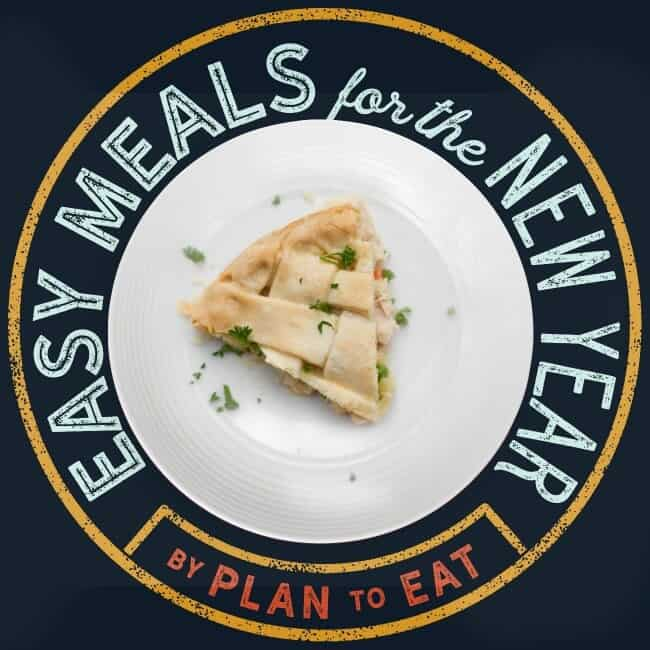 Plan To Eat Easy Meals for the New Year Challenge