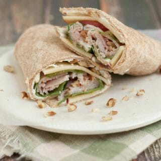 Turkey Apple Honey Pecan Wrap