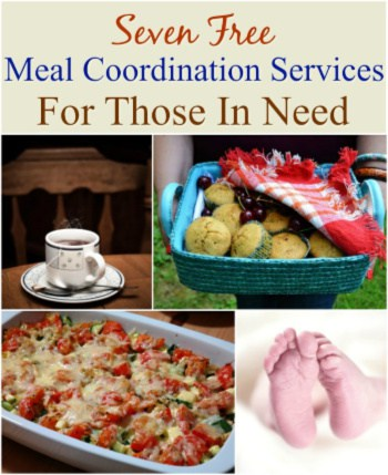 Helping those in time of need can seem overwhelming but these free online services How to Organize Meals for Friends, Family and Those In Need make it easy!