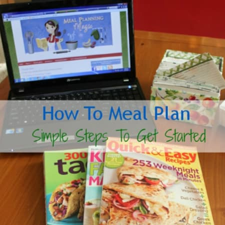 How to Meal Plan - Simple Steps to Get Started