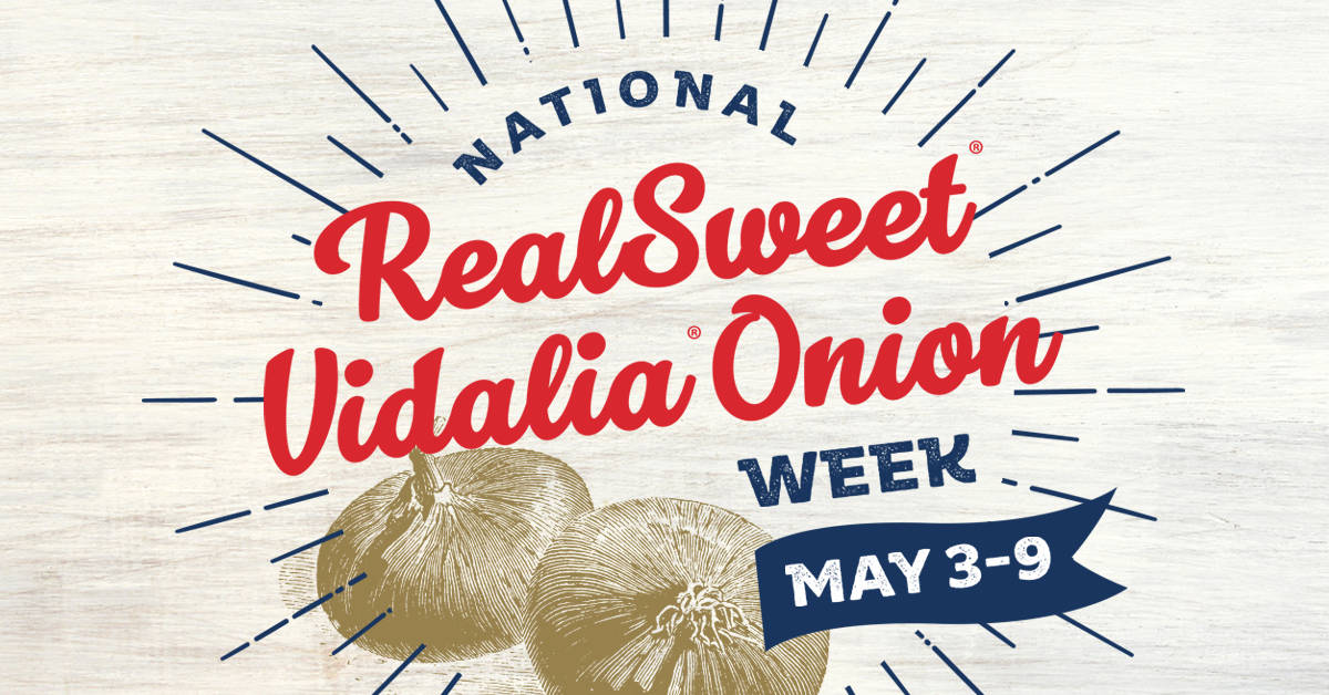 National RealSweet Vidalia Onion Week logo
